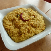 Indian Dinner - Coconut Dhal