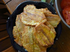 fried tostones