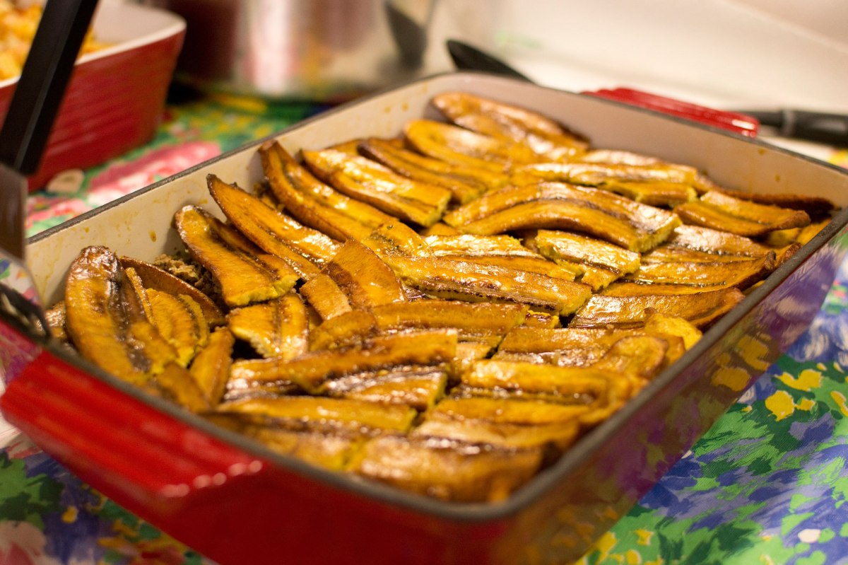 Puerto Rican - Pastelón Plantain Casserole
