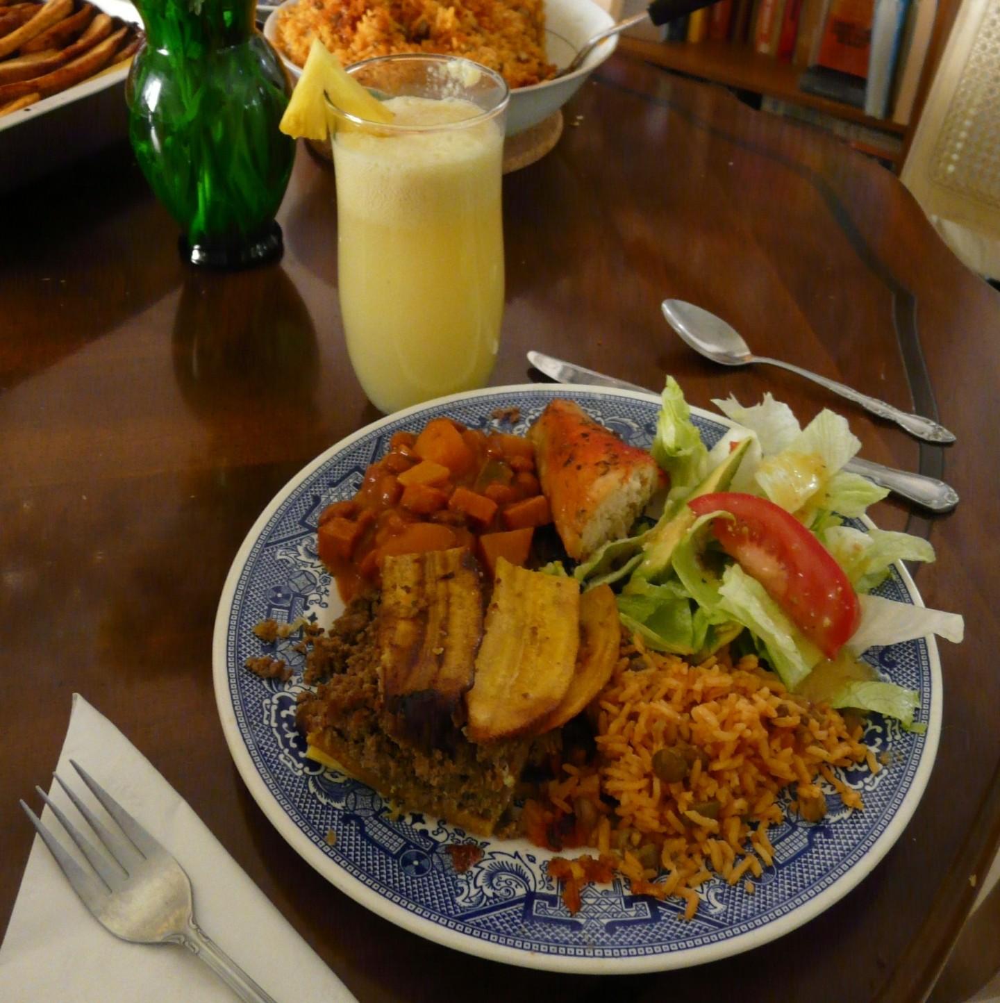 puerto rican plate