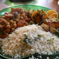 Moroccan Chickpea and Carrot Tagine