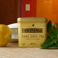 Earl Grey Sorbet with Lemon & Mint