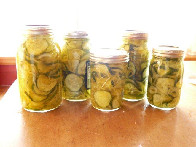 in jars!
