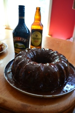 Guinness Chocolate Cake with Bailey's Glaze