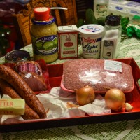 Sauerkraut Pork Casserole - Kolozsvári rakott káposzta