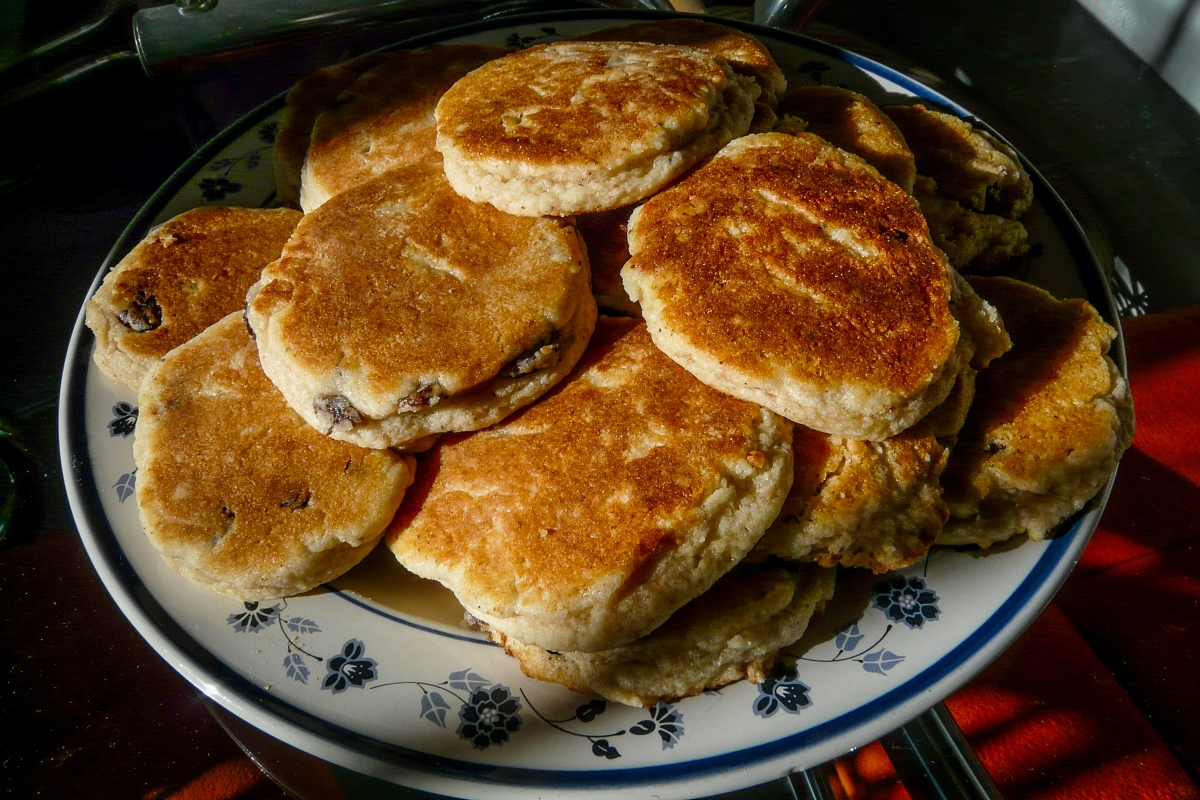 Welsh Griddle Cakes - Pice ar y maen