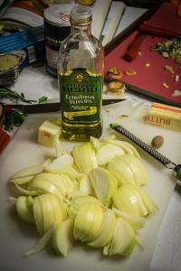 onions for polenta pasticciata