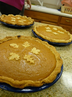 Mom's pumpkin pies