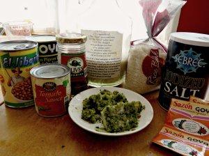 Arroz Con Gandules Ingredients