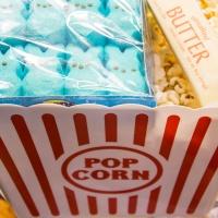 Rainbow Peep Popcorn Balls