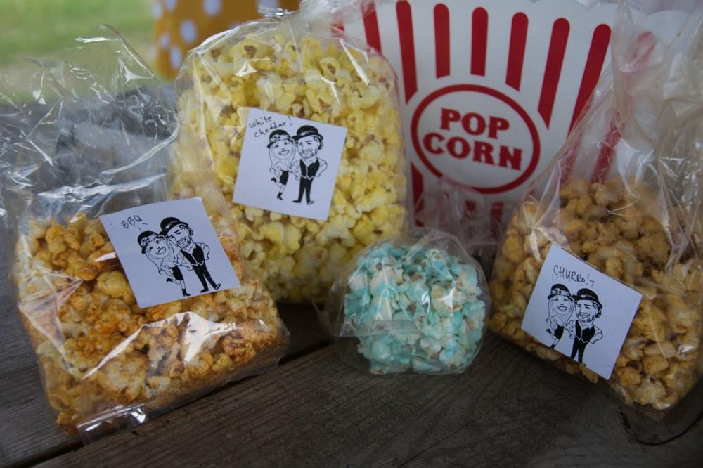 wedding popcorn