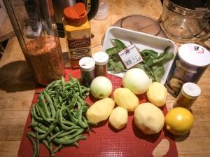 Madras Sambal ingredients