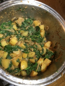 Spinach & Potato Curry