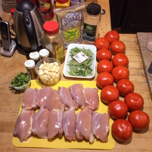tomato chicken balti ingredients