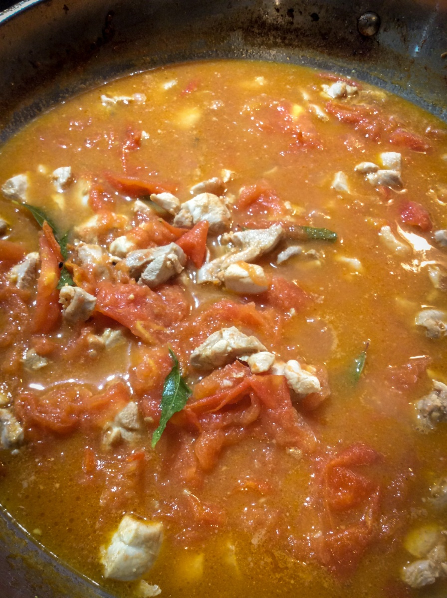 Tomato Chicken Balti