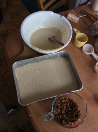 Great Lakes Coffee Cake - Layer 1