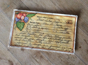 Great Lakes Coffee Cake - Recipe Card Front