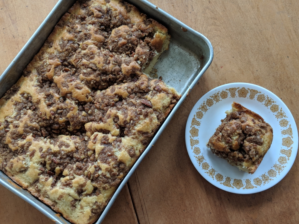 Great Lakes Coffee Cake