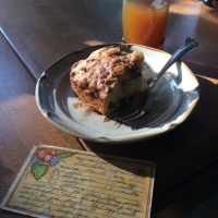 Great Lakes Cinnamon Praline Coffee Cake